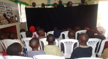 Puppetry Training at Imani Children's Home - Ngong